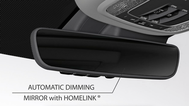 Automatic Dimming Rear-view Mirror