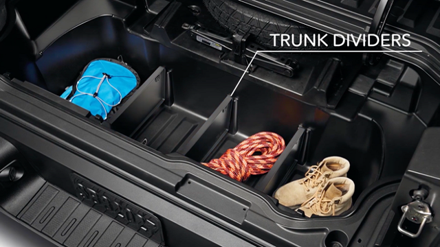Trunk Dividers